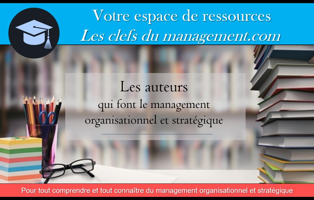 auteurs théories management